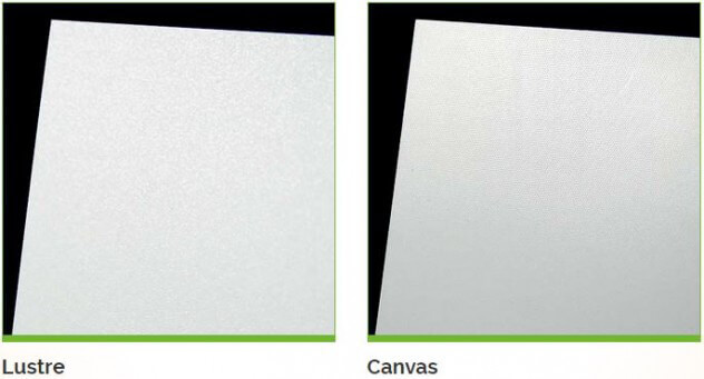 Re Canvas Glossy Matte For Example If You Looking To Frame A Picture And Hang It On Your Wall Might Want Select Finish