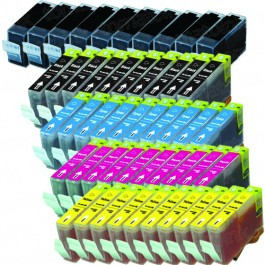 Canon BCI-3eBK & BCI-6 Black & Color 50-pack Ink Cartridges