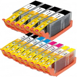 Canon PGI-250XL & CLI-251XL Black & Color 12-pack HY Ink Cartridges
