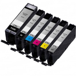 Canon PGI-270XL & CLI-271XL Black & Color 6-pack HY Ink Cartridges