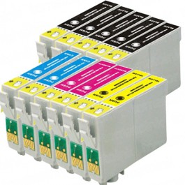 Epson 68 T068 Black & Color 11-pack High Yield Ink Cartridges