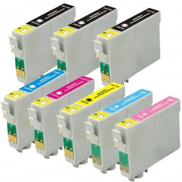 Epson 79 T079 Black & Color 8-pack High Yield Ink Cartridges