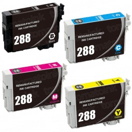 Epson 288 T288 Black & Color 4-pack Ink Cartridges