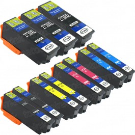 Epson 273XL T273XL Black & Color 11-pack HY Ink Cartridges