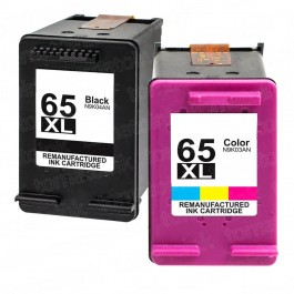 HP 65XL High Yield Black & Color 2-pack Ink Cartridges