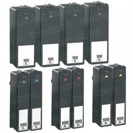 Lexmark 100XL Black & Color 10-pack High Yield Ink Cartridges