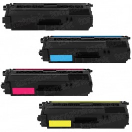 Brother TN336 Black & Color 4-pack High Yield Toner Cartridges