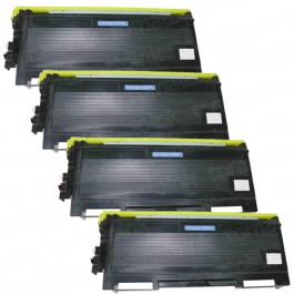 Brother TN650 (4-pack) High Yield Black Toner Cartridges