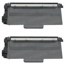 Brother TN750 (2-pack) High Yield Black Toner Cartridges