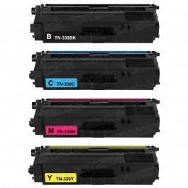 Brother TN339 Black & Color 4-pack Super High Yield Toner Cartridges