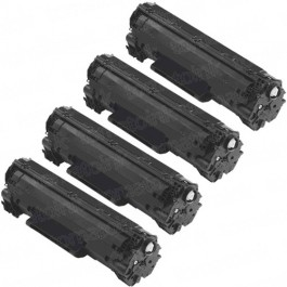 Canon 125 (4-pack) Black Toner Cartridges