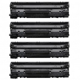 Canon 126 (4-pack) Black Toner Cartridges
