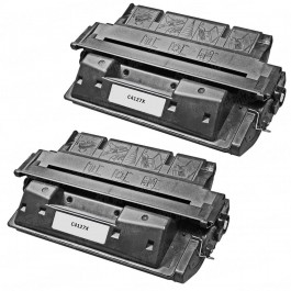 HP 27X (C4127X) 2-pack Black Laser Toner Cartridges