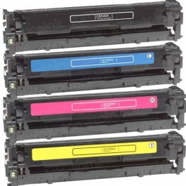 HP 125A (CB540-3A) 4-pack Laser Toner Cartridges
