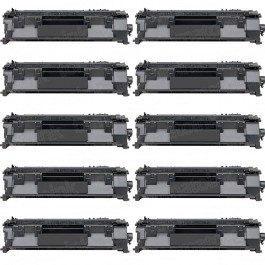 HP 05A (CE505A) 10-pack Black Toner Cartridges