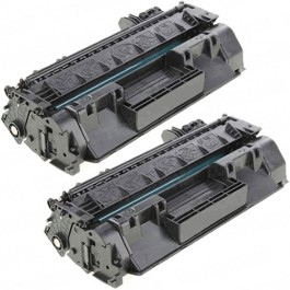 HP 80A (CF280A) 2-pack Black Toner Cartridges