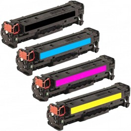 HP 312X / 312A 4-pack Laser Toner Cartridges