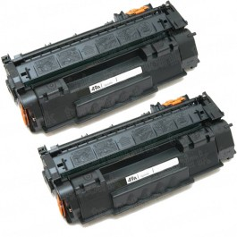 HP 49A (Q5949A) 2-pack Black Toner Cartridges
