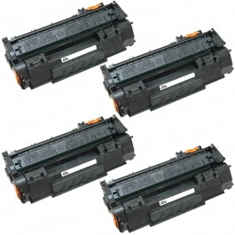 HP 49A (Q5949A) 4-pack Black Toner Cartridges