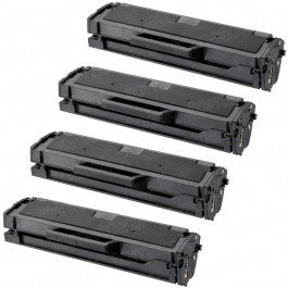 Samsung 101 MLT-D101S (4-pack) Black Toner Cartridges
