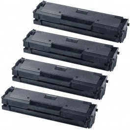 Samsung 111 MLT-D111S (4-pack) Black Toner Cartridges