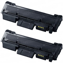 Samsung 116 MLT-D116L (2-pack) High Yield Black Toner Cartridges
