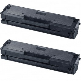 Samsung 111 MLT-D111S (2-pack) Black Toner Cartridges