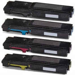 Xerox 6655 (4-pack) High Yield Toner Cartridges