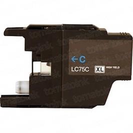 Brother LC75C HY Cyan Ink Cartridge