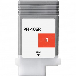 Canon PFI-106R Red Inkjet Cartridge