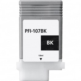 Canon PFI-107BK Black Inkjet Cartridge
