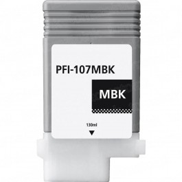Canon PFI-107MBK Matte Black Inkjet Cartridge