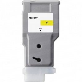 Canon PFI-206Y Yellow Inkjet Cartridge