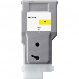 Canon PFI-207Y Yellow Inkjet Cartridge