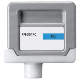 Canon PFI-301PC Photo Cyan Ink Cartridge