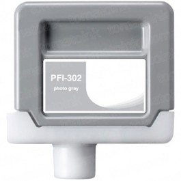 Canon PFI-302PGY Photo Gray Ink Cartridge