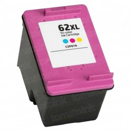 HP 62XL C2P07AN High Yield Color Ink Cartridge