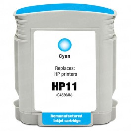HP 11 C4836AN C4836A Cyan Ink Cartridge