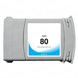 HP 80 C4846A Cyan Ink Cartridge