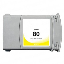 HP 80 C4848A Yellow Ink Cartridge