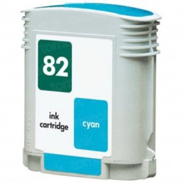 HP 82 C4911A Cyan Ink Cartridge