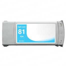 HP 81 C4934A Light Cyan Ink Cartridge