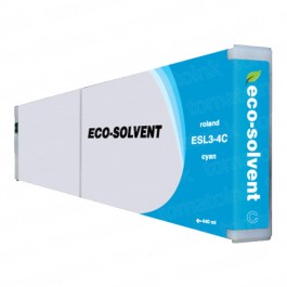Roland ESL3-4C Eco-Sol Max Cyan Ink Cartridge