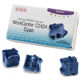 Xerox 108R00660 / WorkCentre C2424 OEM Cyan Ink 3-pack Cartridge