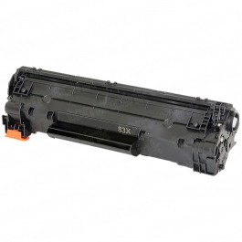 HP CF283X (HP 83X) High Yield Black Laser Toner Cartridge