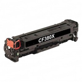 HP CF380X (HP 312X) High Yield Black Laser Toner Cartridge