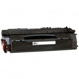 HP Q5949X (49X) High Yield Black Laser Toner Cartridge