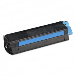 Okidata C5100 High Yield Cyan Laser Toner Cartridge