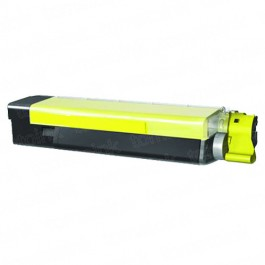 Okidata C5500 High Yield Yellow Laser Toner Cartridge