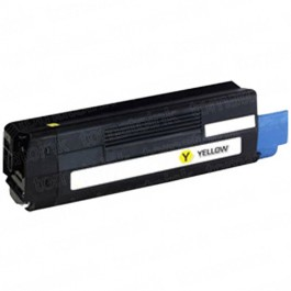 Okidata C6100 Yellow Laser Toner Cartridge